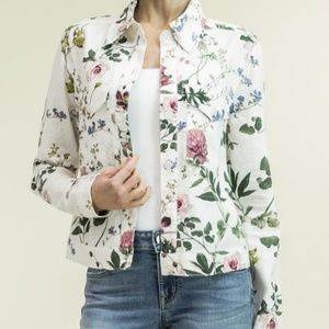 Level 99 Floral Jacket Nwt